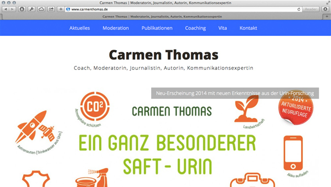 Website Carmen Thomas